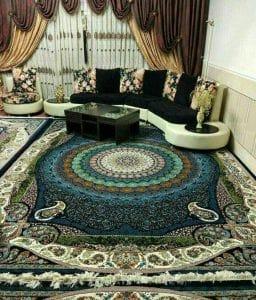 رنگ مناسب فرش ، با توجه به دکوراسیون خانه