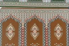 نمونه ای از سجاده فرش ، شرکت فرش گل نرگس کاشان